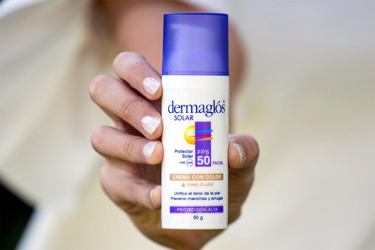 protector solar dermaglos bebes precio